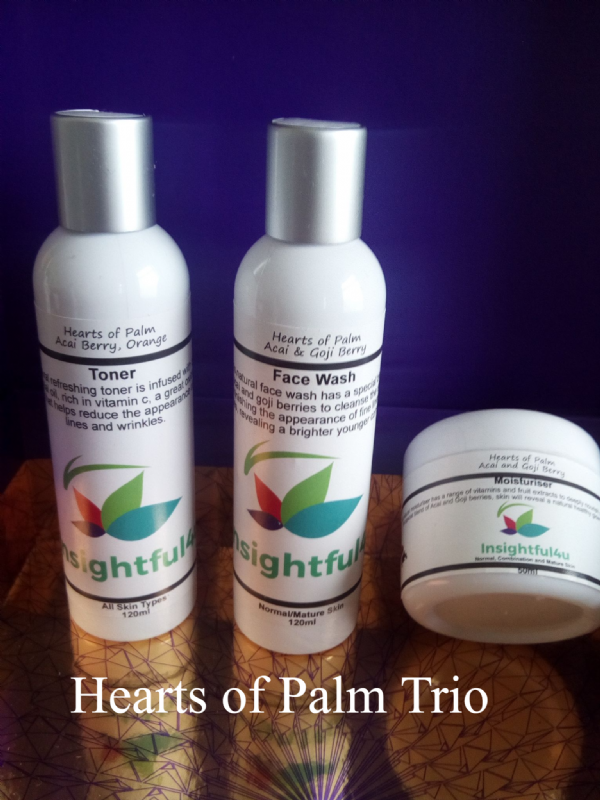 Hearts Of Palm Natural Organic Face Wash